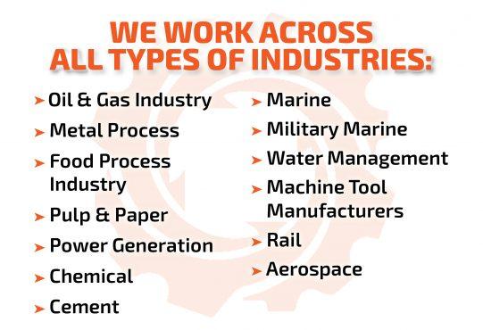 We Work Across